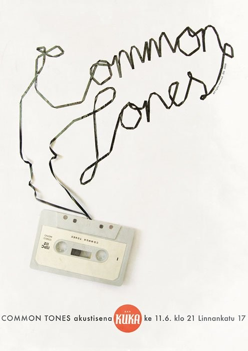 Common Tones poster
