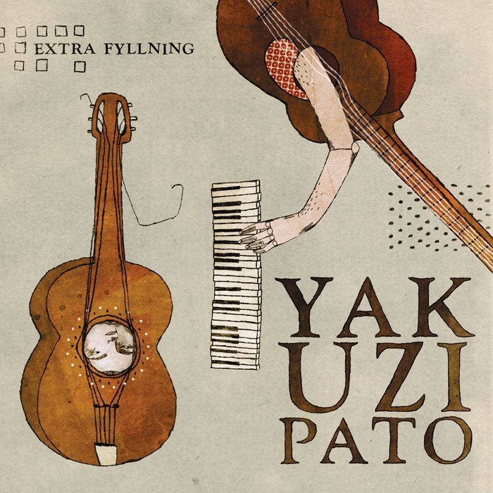Yakuzi Pato  CD package design